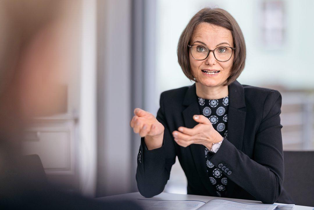 Anja Boller vom IHK-Schlichtungsausschuss